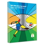 Brasilia 2014 FIFA World Cup Brazil Host City Poster Stretched Canvas