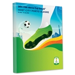 Porto Alegre 2014 FIFA World Cup Brazil Host City Poster Stretched Canvas