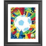 Sao Paulo 2014 FIFA World Cup Host City Framed Print