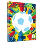 Sao Paulo 2014 FIFA World Cup Brazil Host City Poster Stretched Canvas