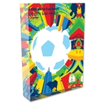 Sao Paulo 2014 FIFA World Cup Brazil Host City Poster Acrylic Block Display