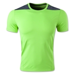 adidas TechFit Fitted T-Shirt (Neon Green)