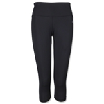 adidas Performer Mid-Rise Print 3/4 Tight (Black)