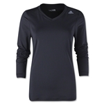 adidas Techfit Long Sleeve T-Shirt (Black)