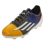 adidas F10 FG Junior Messi (Neon Orange/Running White/Earth Green)