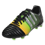 adidas Nitrocharge 3.0 FG Junior (Black/Metallic Silver/Neon Orange)