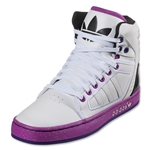 adidas Originals Women's adi High Ext Leisure Shoe (White/White/Vivid Pink)