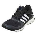 adidas Energy Boost 2 ESM Running Shoe (Black/Core White/Solar Red)