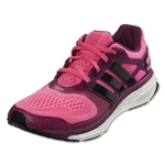 adidas Energy Boost 2 ESM Women's Running Shoe (Solar Pink/Black/Tribe Berry)