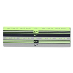 Nike Wide Sport Bands Assorted-6 Pack (Yl/Nv)