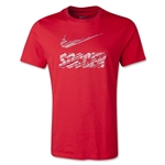 Nike Swoosh Soccer T-Shirt 2014 (Red)