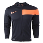 Nike GPX FZ Poly Hoody (Blk/Orange)
