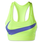 Nike Victory Compression Logo Bra (Neon Yello)