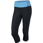 Nike Legend 2.0 Tight Capri (Black/Sky)
