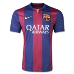 Barcelona 14/15 Authentic Home Soccer Jersey