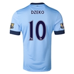 Manchester City 14/15 DZEKO Authentic Home Soccer Jersey
