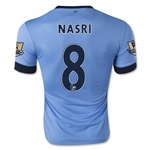 Manchester City 14/15 NASRI Home Soccer Jersey