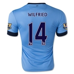 Manchester City 14/15 WILFRIED Home Soccer Jersey