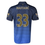 Manchester City 14/15 NASTASIC Away Soccer Jersey