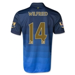 Manchester City 14/15 WILFRIED Away Soccer Jersey