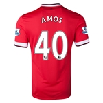 Manchester United 14/15 AMOS Home Soccer Jersey