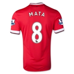 Manchester United 14/15 MATA Home Soccer Jersey
