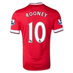 Manchester United 14/15 ROONEY Home Soccer Jersey