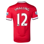 Manchester United 14/15 SMALLING Home Soccer Jersey