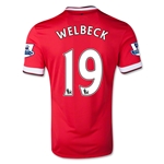 Manchester United 14/15 WELBECK Home Soccer Jersey