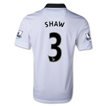 Manchester United 14/15 SHAW Away Soccer Jersey
