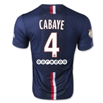 Paris Saint-Germain 14/15 CABAYE Home Soccer Jersey