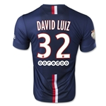 Paris Saint-Germain 14/15 DAVID LUIZ Home Soccer Jersey