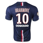 Paris Saint-Germain 14/15 IBRAHIMOVIC Home Soccer Jersey