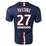 Paris Saint-Germain 14/15 PASTORE Home Soccer Jersey