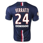 Paris Saint-Germain 14/15 VERRATTI Home Soccer Jersey