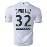 Paris Saint-Germain 14/15 DAVID LUIZ Away Soccer Jersey