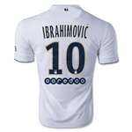 Paris Saint-Germain 14/15 IBRAHIMOVIC Away Soccer Jersey