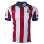 Atletico Madrid 14/15 UCL Home Soccer Jersey