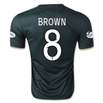 Celtic 14/15 BROWN Away Soccer Jersey