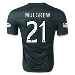 Celtic 14/15 MULGREW Away Soccer Jersey