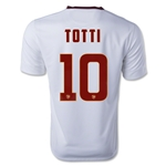 AS Roma 14/15 TOTTI Away Soccer Jersey