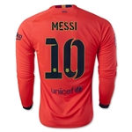 Barcelona 14/15 MESSI LS Away Soccer Jersey