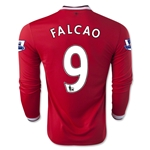 Manchester United 14/15 FALCAO LS Home Soccer Jersey