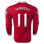 Manchester United 14/15 JANUZAJ LS Home Soccer Jersey