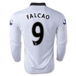 Manchester United 14/15 FALCAO LS Away Soccer Jersey