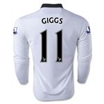 Manchester United 14/15 GIGGS LS Away Soccer Jersey