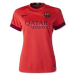 Barcelona 14/15 Women's Away Soccer Jersey