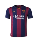 Barcelona 14/15 Youth Home Soccer Jersey