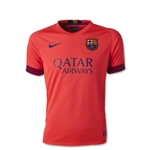 Barcelona 14/15 Youth Away Soccer Jersey