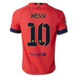 Barcelona 14/15 MESSI Youth Away Soccer Jersey